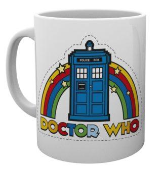 Doctor Who Rainbow Mug