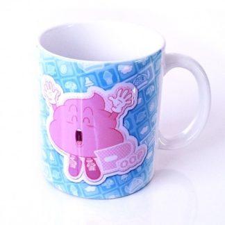 Dr SlumpUnchi Pink Poop Ceramic Mug