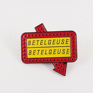 Beetlejuice Enamel Pin – Betelgeuse Betelgeuse